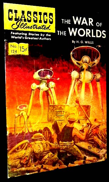 differences between h.g. wells the war of the worlds novel and 1953 film essay The war of the worlds: setting / character list / character descriptions  free booknotes summary for the war of the worlds by hg wells-free study guide previous.